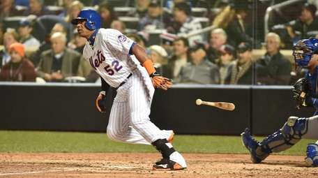 New York Mets center fielder Yoenis Cespedes