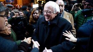 U.S. Democratic presidential candidate Sen. Bernie Sanders of