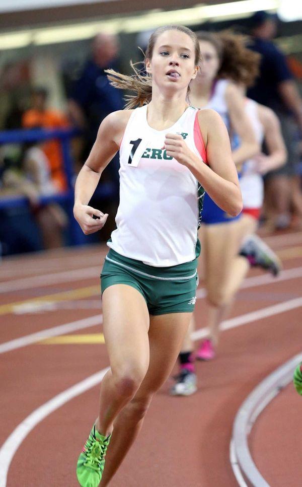 Mercy's Meg Tuthill takes 1st in the girls