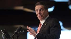 Gov. Andrew M. Cuomo pitched plans for a