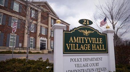 Amityville Village Hall on Ireland Place on Feb.