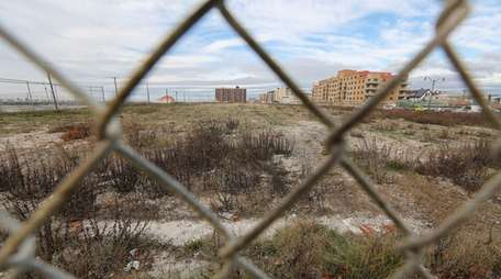The proposed site of the Long Beach Superblock