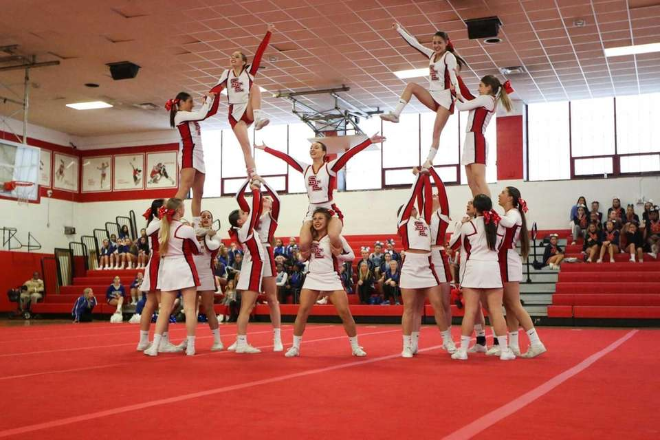 Smithtown East competes in the Small Varsity Division