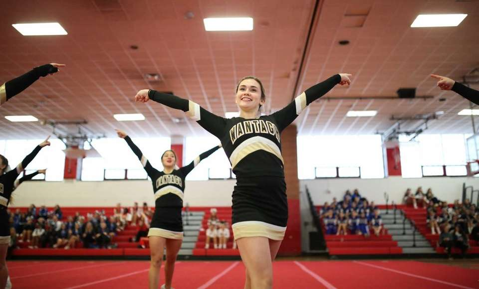 Wantagh competes in the Small Varsity Division 1