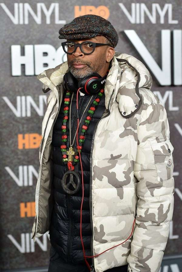 Spike Lee attends the New York premiere of