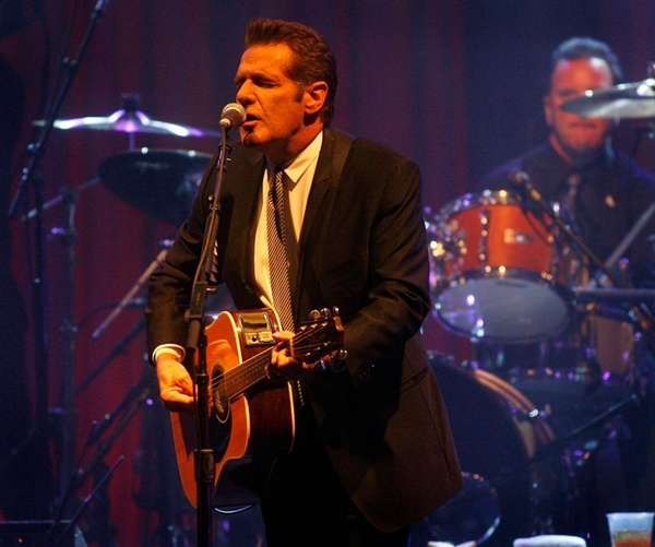 Glenn Frey of the Eagles performs at Muhammad