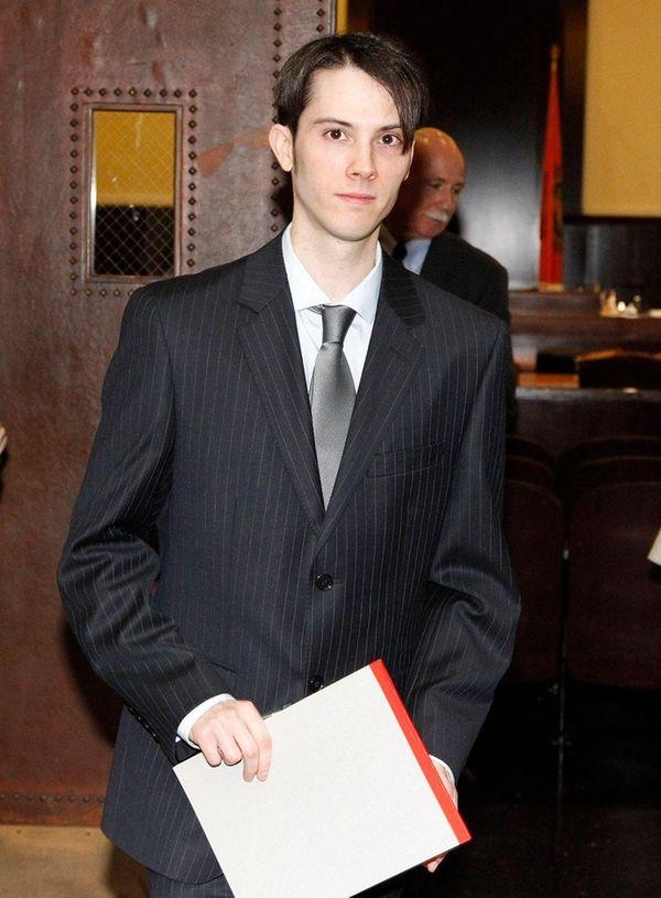 James Ryan, 28, of Oakdale leaves the Nassau