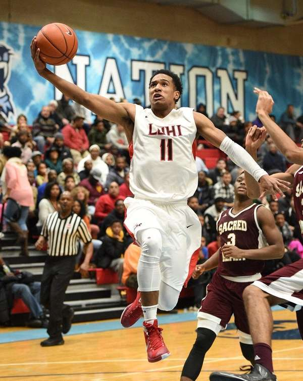 Long Island Lutheran guard Devonte Green sinks a