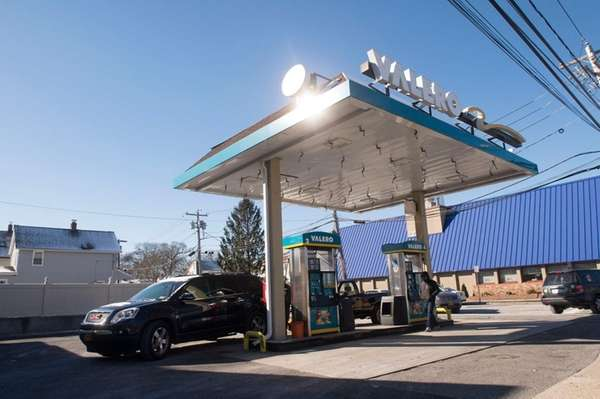 The Valero station in Valley Stream where a