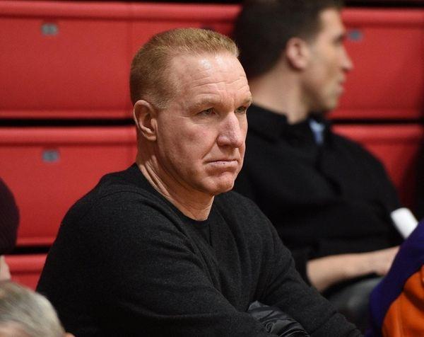 St. John's head coach Chris Mullin observes a