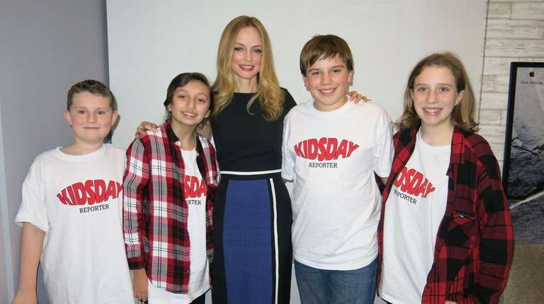 Heather Graham, who does the voice of Vera