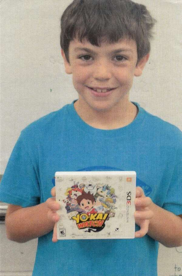 Kidsday reporter Charles Borruso reviewed the Yo-Kai game.