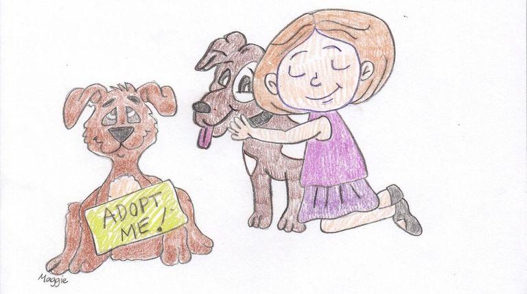 Kidsday staff artist Maggie Flaherty, Merrick