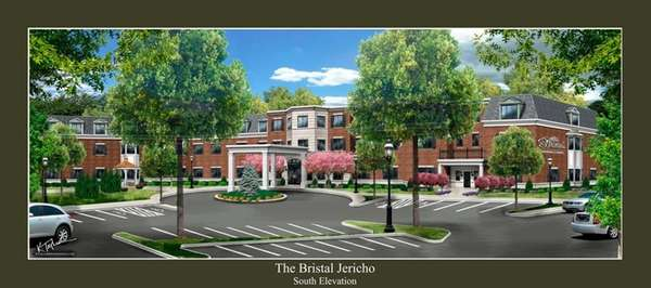 Rendering of a 280-unit assisted living project called