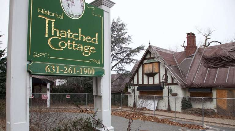 Thatched Cottage in Centerport, Jan. 12, 2016.