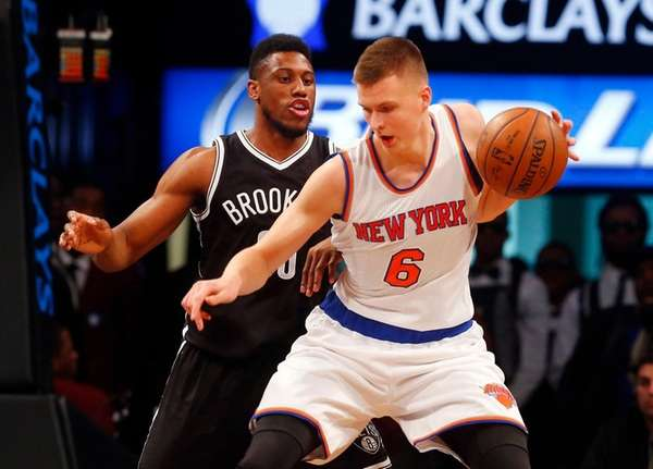 Kristaps Porzingis has another fan in former Knicks