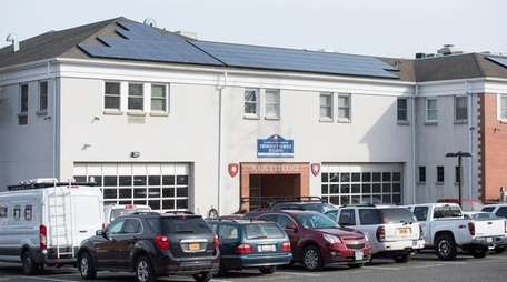 Rooftop solar panels are visible at the East