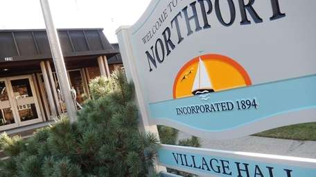 Northport Village Hall in Northport is seen on