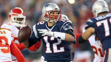 Tom Brady, above, and Peyton Manning have earned
