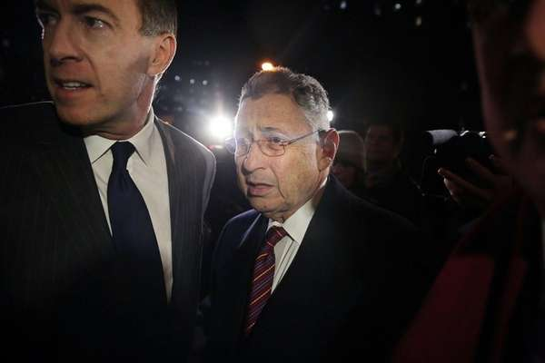 Former New York Assembly Speaker Sheldon Silver has