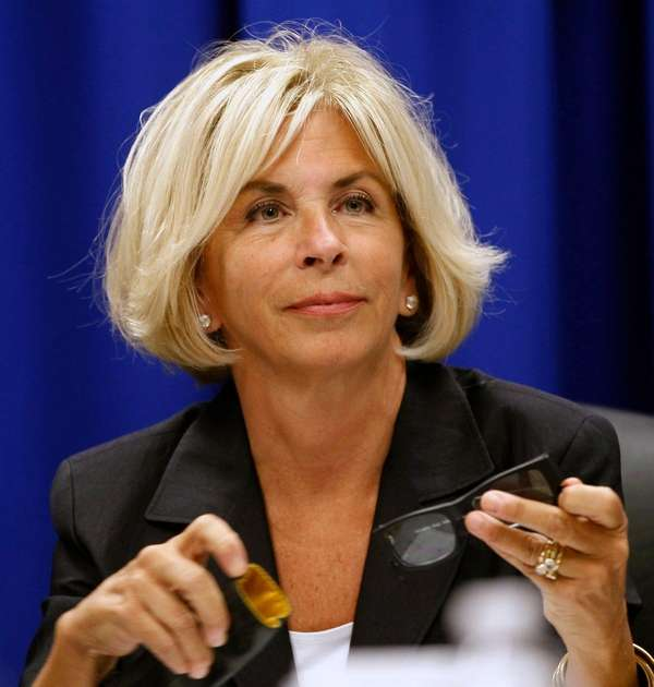 Janet DiFiore, the Westchester County district attorney, appeared