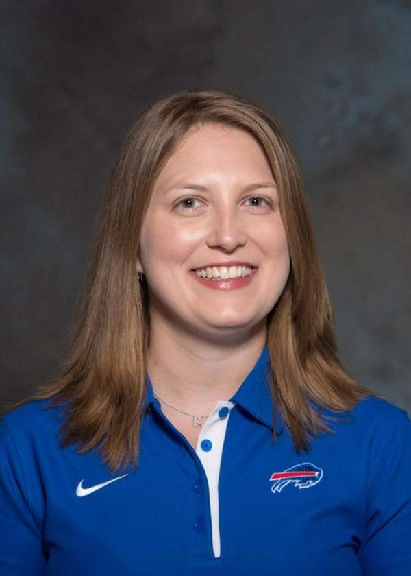 Kathryn Smith, special teams-quality control coach of the