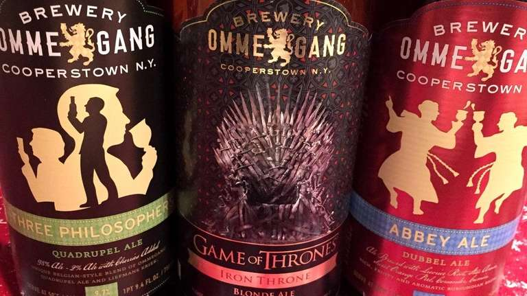 Brewery Ommegang in Cooperstown makes beer inspired by