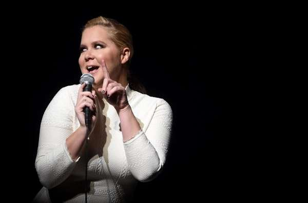 Amy Schumer performs during