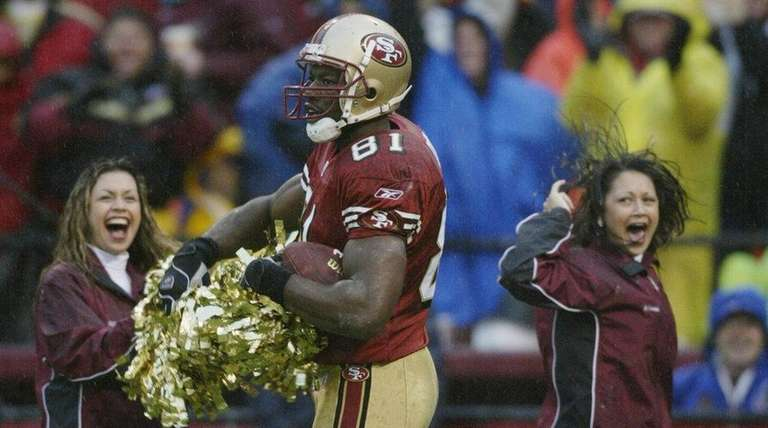 Wide receiver Terrell Owens of the San