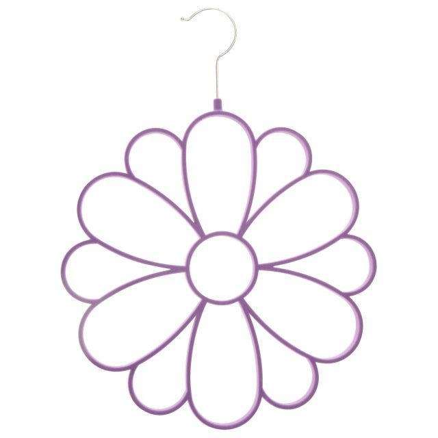 The Flower Accessory hanger by Joy Mangano is