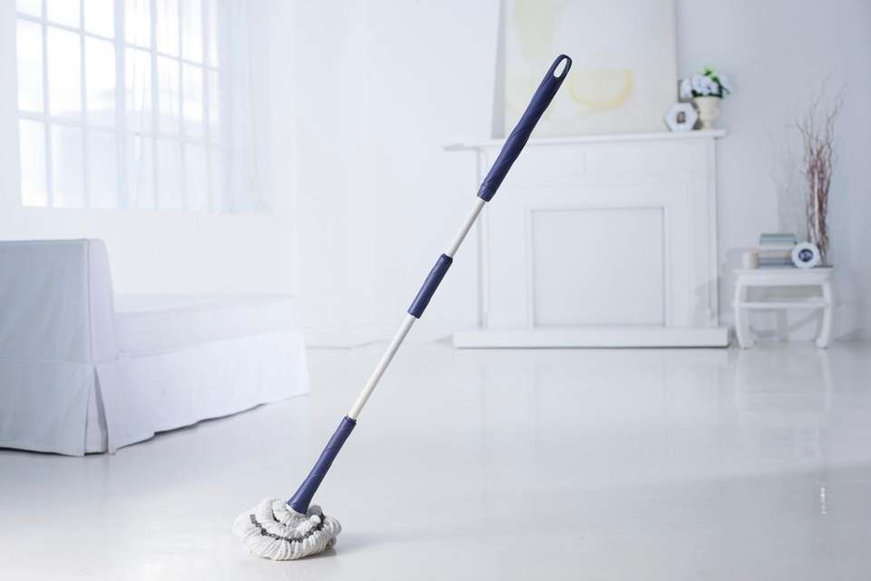 The original self-wringing mop, Miracle Mop, became so