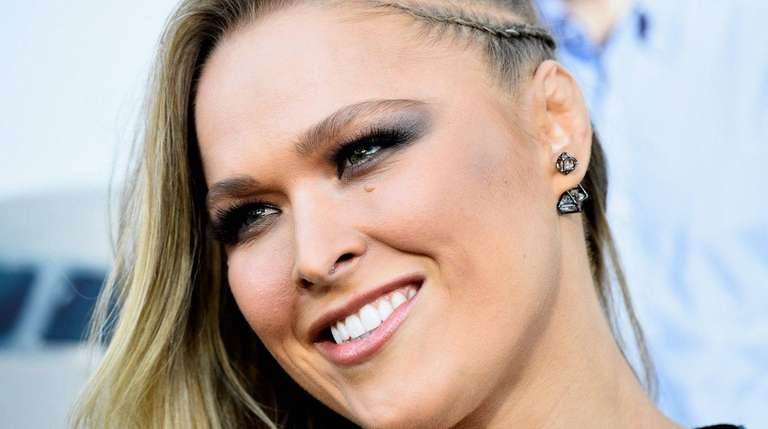 Actress Ronda Rousey arrives at the Premiere of