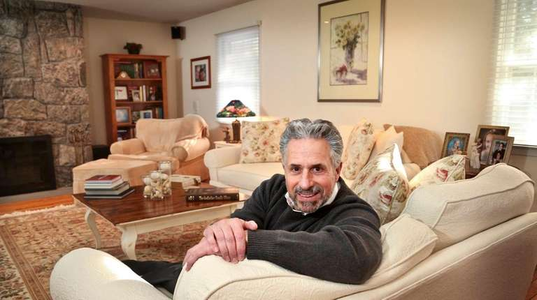 Kevin Zacharoff in the den of his Old