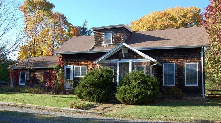 The Mattituck home of Candida Royalle, the late