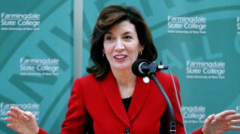 Lt. Gov. Kathy Hochul announces a $6.6 million