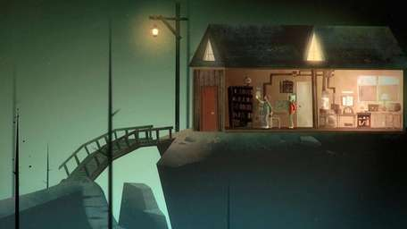 Oxenfree is a game of mystery on a