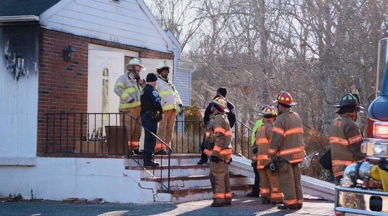 Two firefighters were injured Thursday morning, Jan. 21,
