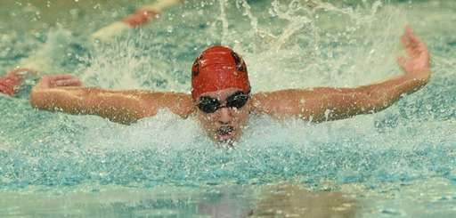 Half Hollow Hills' Kabir Randawna swims the 200