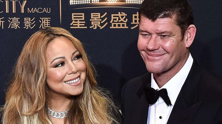 Singer Mariah Carey and Australian businessman James Packer