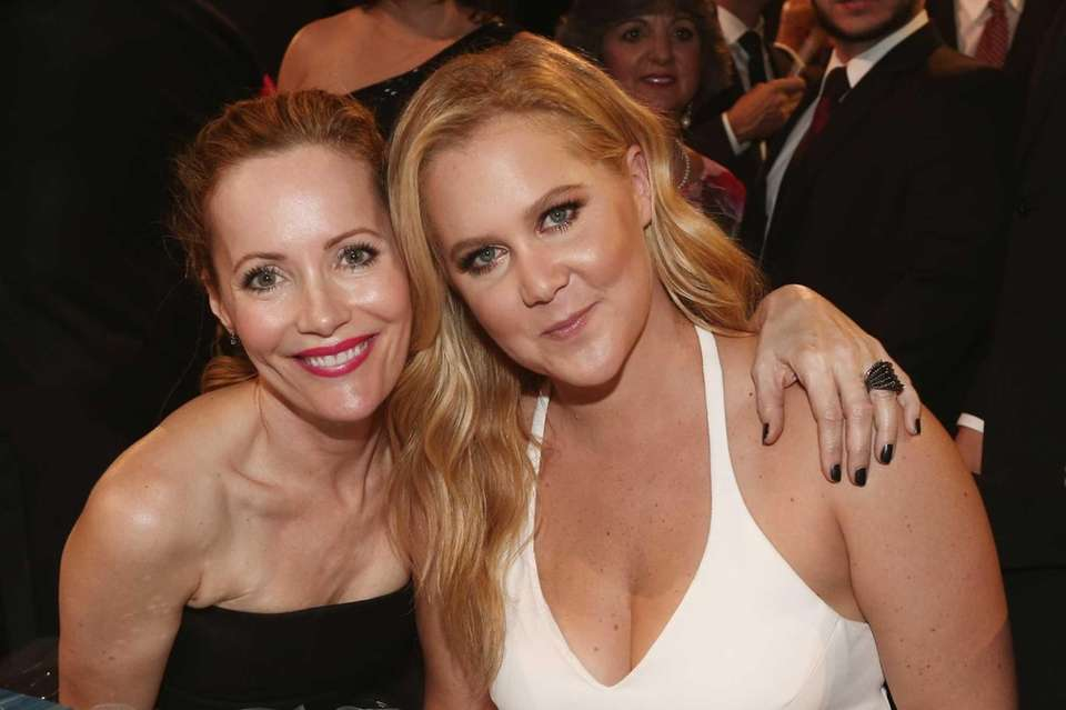 Actresses Leslie Mann and Amy Schumer attend the