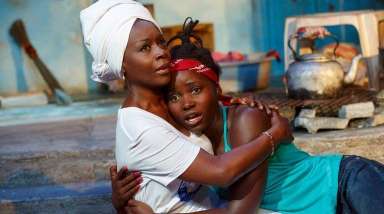 Akosua Busia and Lupita Nyong'o in