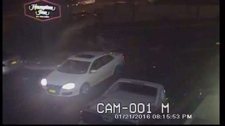 Surveillance released by NYPD detectives shows the robbers