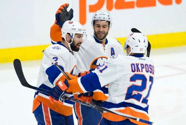 New York Islanders center Frans Nielsen (51)
