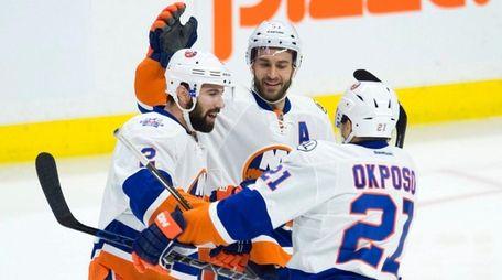 New York Islanders center Frans Nielsen (51)