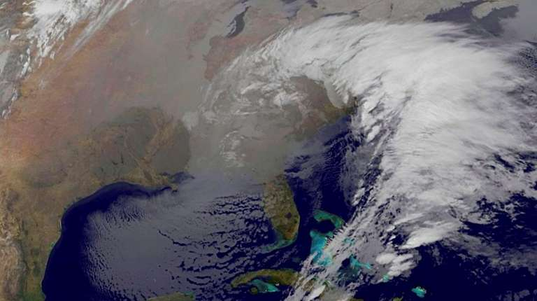 This image taken by NOAA's GOES-East satellite on