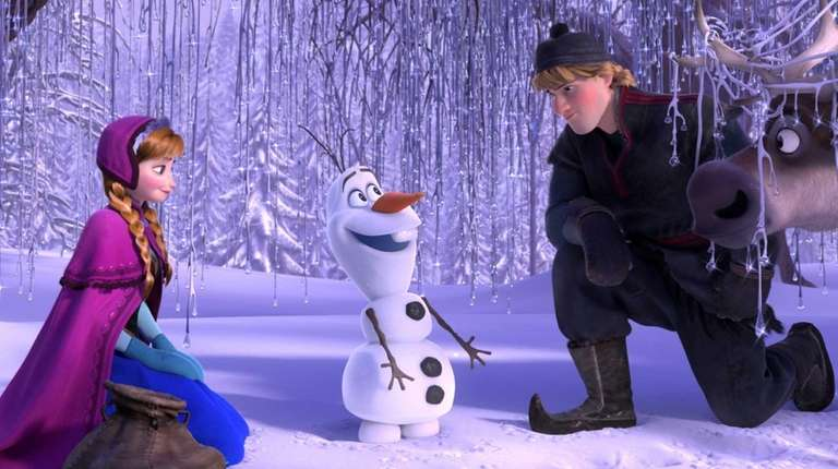 This record-breaking Disney film features the voices of