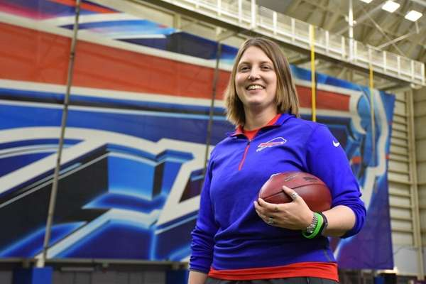 The Buffalo Bills hired Kathryn Smith as