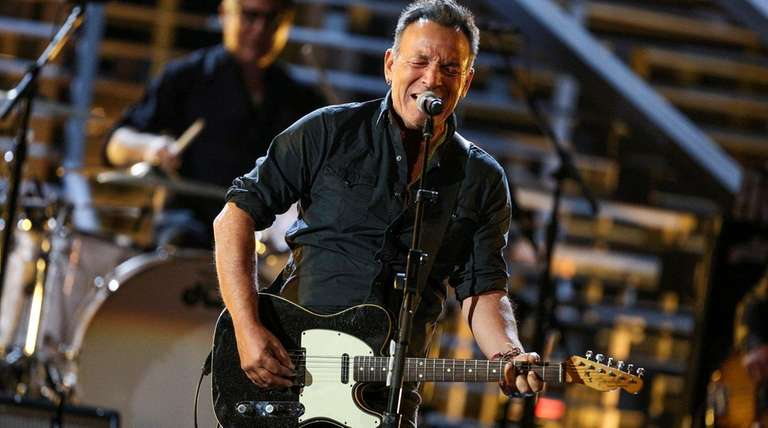 Bruce Springsteen performs at Shining a Light: A
