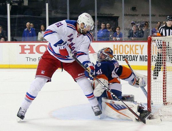 Jaroslav Halak of the New York Islanders