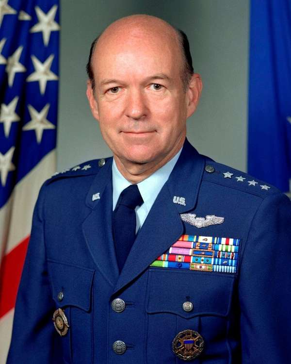 Four-star Air Force General William Y. Smith is